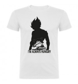 "Camiseta ""I'm always hungry"" hombre"